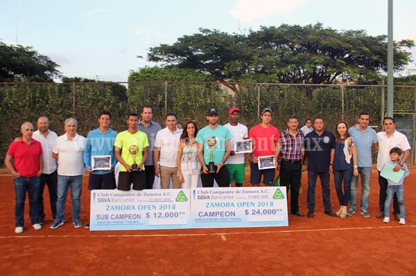 Un éxito  la segunda edición del Zamora Open