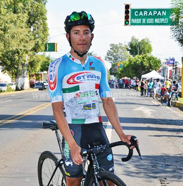 Orlando Garibay ganó la carrera de aniversario de la Revolución Zamora 2018