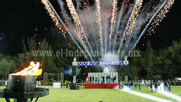Todo listo para la Décima Olimpiada Municipal de Zamora