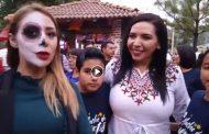 Noche de Muertos en presa de La Luz en Jacona :Con Chio