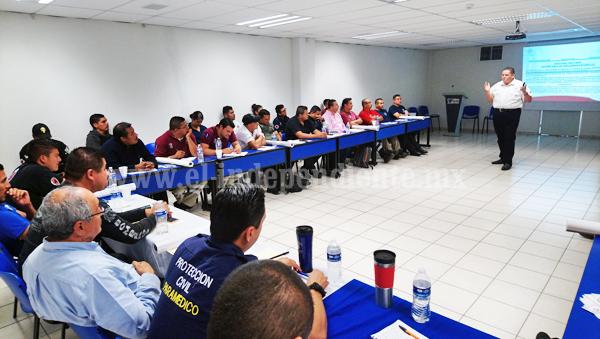 Municipios incurren en faltas de protección civil por desconocimiento del tema