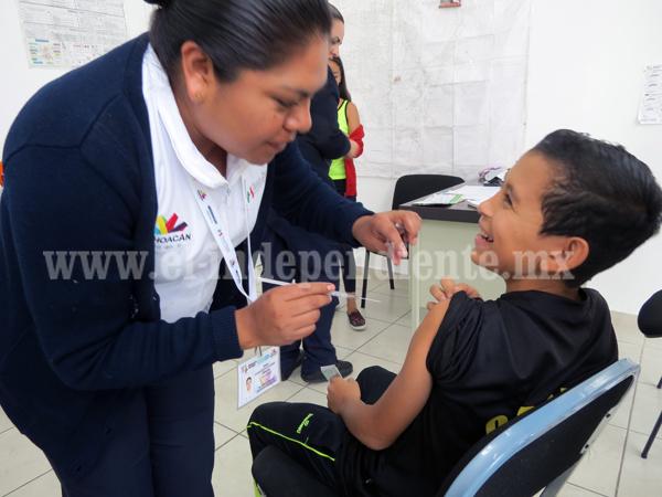 Centro de Salud Niños Héroes aplicará 5 mil vacunas contra la influenza AH1N1