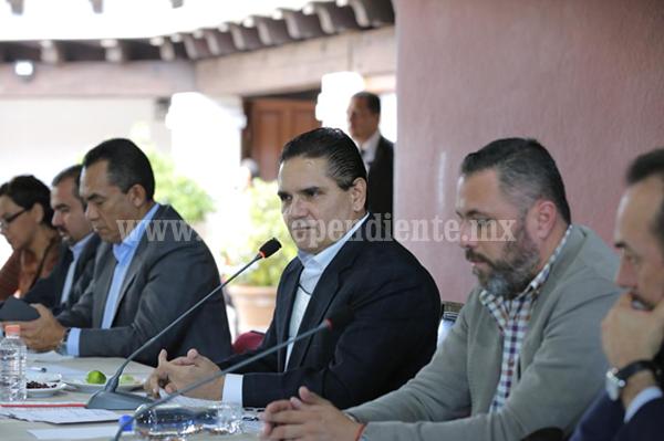 Alinear esfuerzos Estado y Municipios para dar mejores resultados: Gobernador