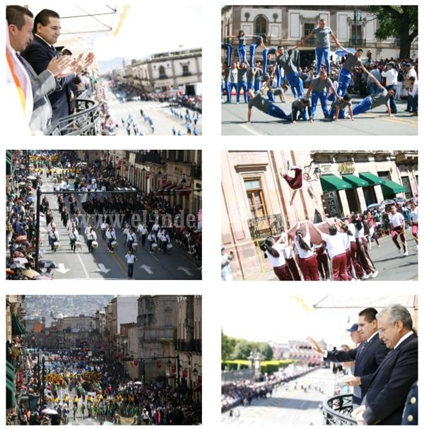 Disfutan miles la fiesta deportiva por el 108 aniversario de la Revolución Mexicana