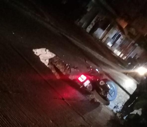 Asesinan a tiros a un motociclista en la colonia La Esperanza