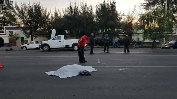 Mujer fallece al ser arrollada cerca de un puente peatonal en Zamora