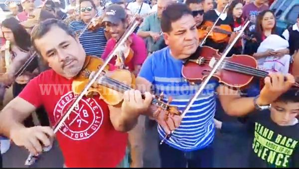 Zamoranos preservan tradición quincuagenaria de Santa Cecilia