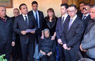 Dan último adiós a Pepe Vega; Silvano Aureoles lo calificó como michoacano ejemplar