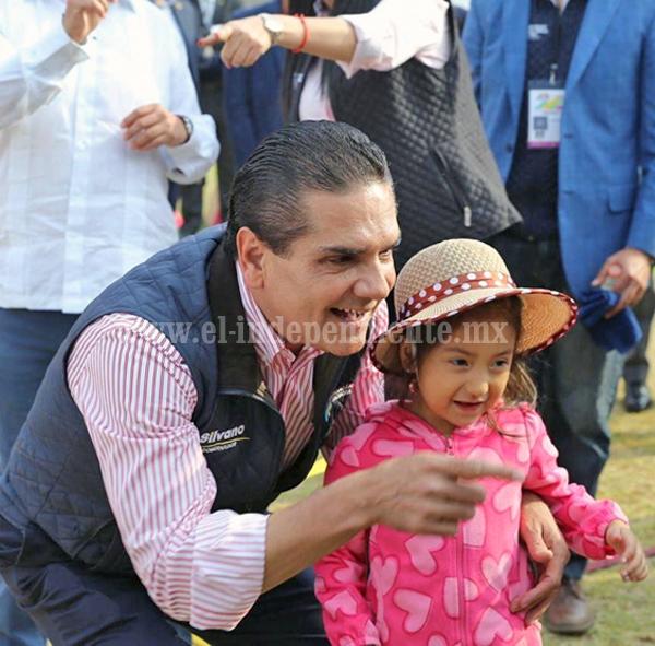 Gobierno estatal, comprometido con el desarrollo infantil: Silvano Aureoles