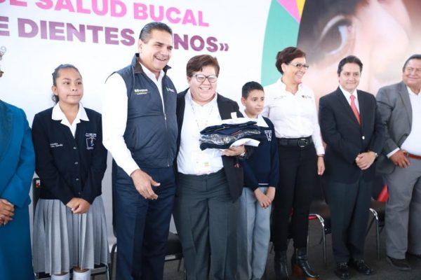 Con federalización de educación y salud vendrán mejores tiempos para Michoacán: Silvano Aureoles