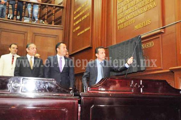 Encabeza secretario de Gobierno, Sesión Solemne en honor al General Emiliano Zapata