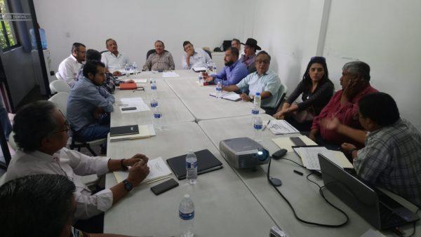 Se reúnen integrantes del comité hidráulico para agilizar las acciones de mantenimiento de la infraestructura