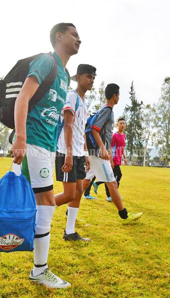 Filtro final para que 5 jóvenes futbolistas locales se integren al Club Monarcas