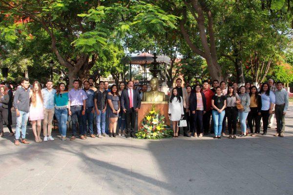 Gobierno Municipal conmemora natalicio de Lázaro Cárdenas del Río