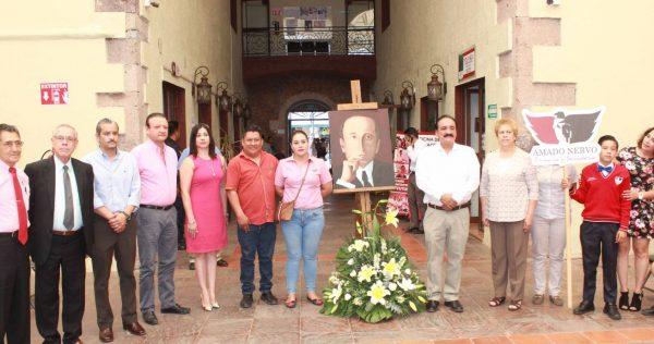 Gobierno Municipal conmemora 100 años sin Amado Nervo