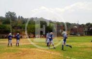 Hubo encuentros de exhibición de fútbol americano en Unidad Deportiva El Bosque