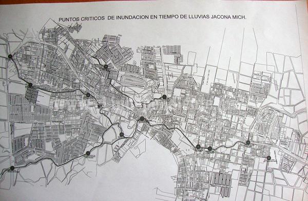 Identifica SAPAJ puntos de riesgo por inundaciones a causa de lluvias