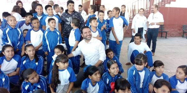 Arrancó campaña de salud bucal en Jacona