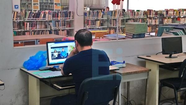 Módulos de internet complementan bibliotecas púbicas