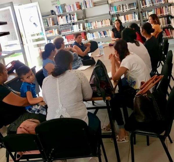 Facilitan capacitación y asesoría técnica a mujeres de Ecuandureo