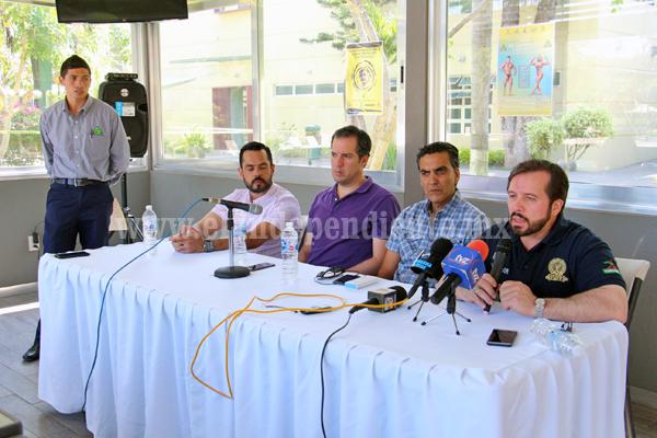 Realizarán eventos nacionales de tenis y físico constructivismo en Club Campestre