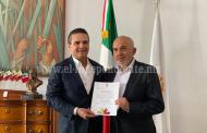 Designa Gobernador a Román Revueltas director de la OSIDEM