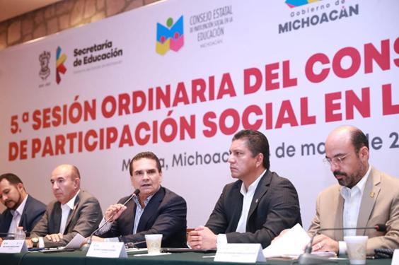 Defenderemos la educación porque es el futuro de Michoacán y México: Gobernador