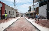 En Sahuayo, modernización integral de calle Tepeyac, a un 40% de avance: SCOP