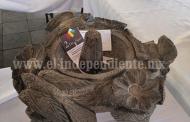 Artesanos michoacanos son reconocidos por su destreza en cantería y lapidaria