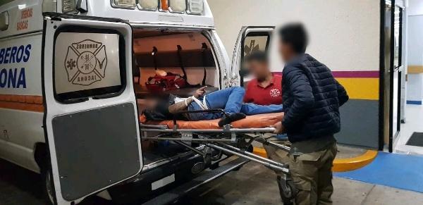 Joven campesino queda herido al ser baleado en Jacona