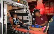 Joven iba por un café y es baleada, termina en el hospital