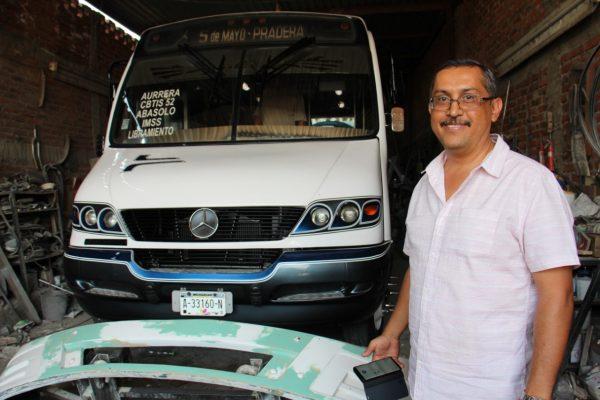 Asegura concesionarios del transporte que nuevas unidades casi no contaminarán