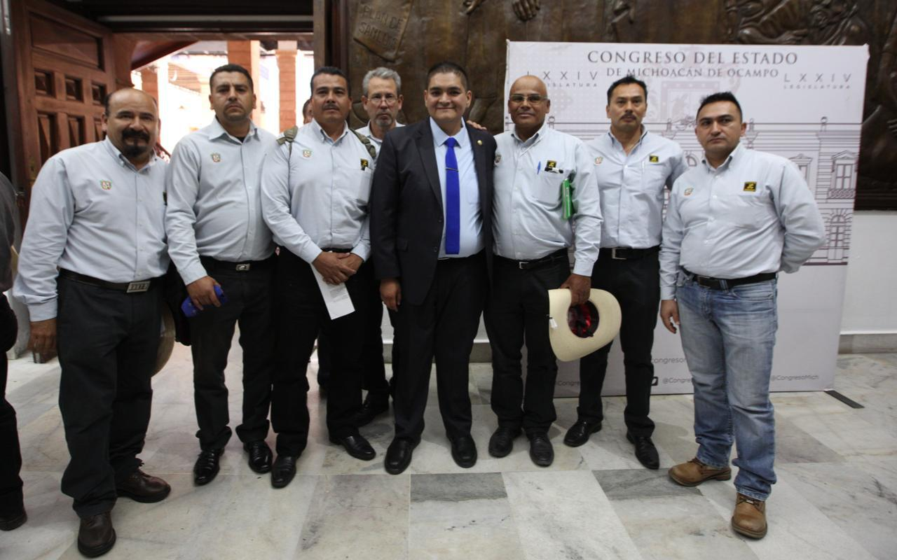 Propone Arturo Hernández rescate y mejora de la junta de Caminos de Michoacán