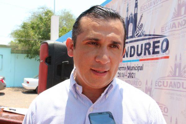 """Camino a """"Los Moreno"""",  principal foco rojo en Ecuandureo"""