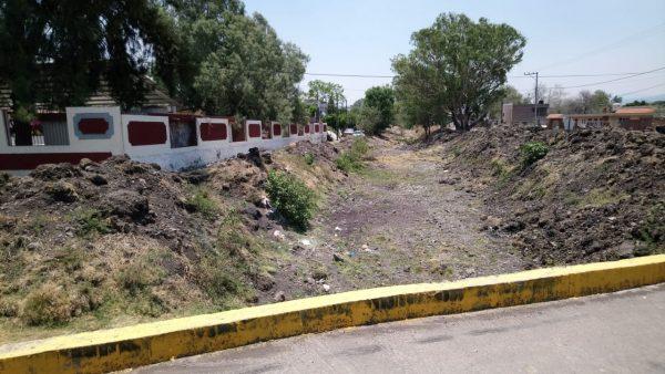 Revisarán condiciones de drenes y canales para evitar asentamientos en márgenes de afluentes