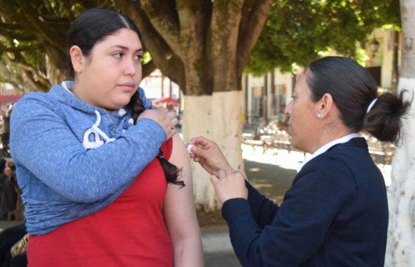 Todo listo en Tangancícuaro para la Segunda Semana Nacional de Salud