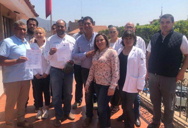Conforman comité municipal de salud en Tangancícuaro