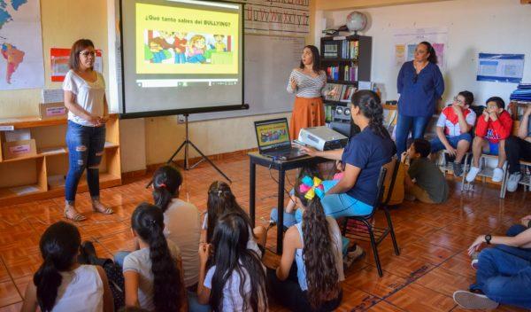 Previenen contra el bullying escolar en Tangancícuaro