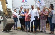 En Ixtlán dan banderazo de inicio a construcción del colector de aguas pluviales