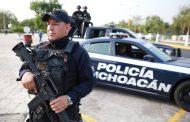 Avanza Michoacán en seguridad con policía certificada