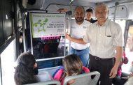 Trasportistas zamoranos ponen ejemplo en Michoacán: dicen no al cigarro