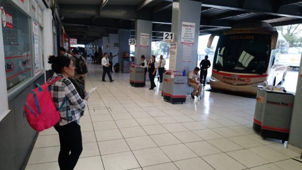 Opera con normalidad central de autobuses de Zamora