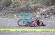 Acribillan a ciclista en la colonia Miguel Hidalgo