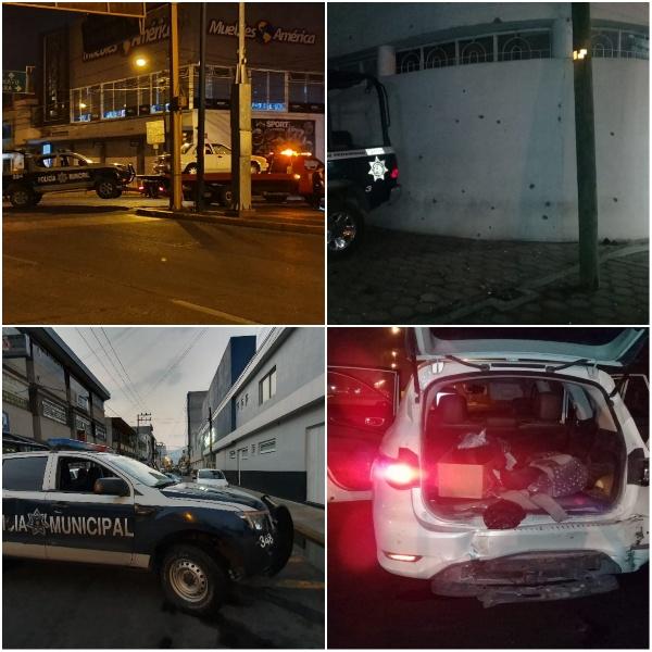 Balacera  contra policías deja 3 oficiales muertos y 10 lesionados en Zamora