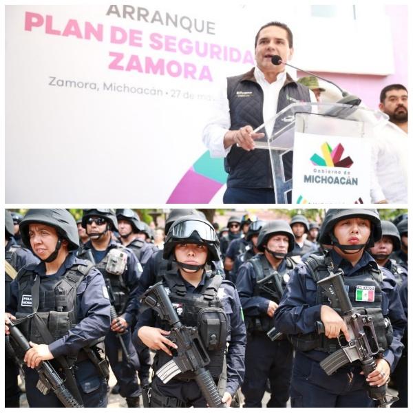 A Michoacán se le respeta, no permitiremos que vulneren a la sociedad