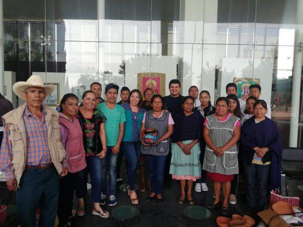 Capacitan a artesanos de Patamban, Tangancícuaro