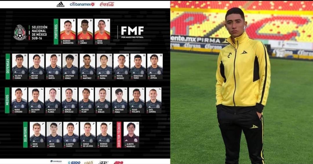 Los zamoranos Diego Reyes y Néstor Galván son  convocados a la Selección Nacional Sub-16