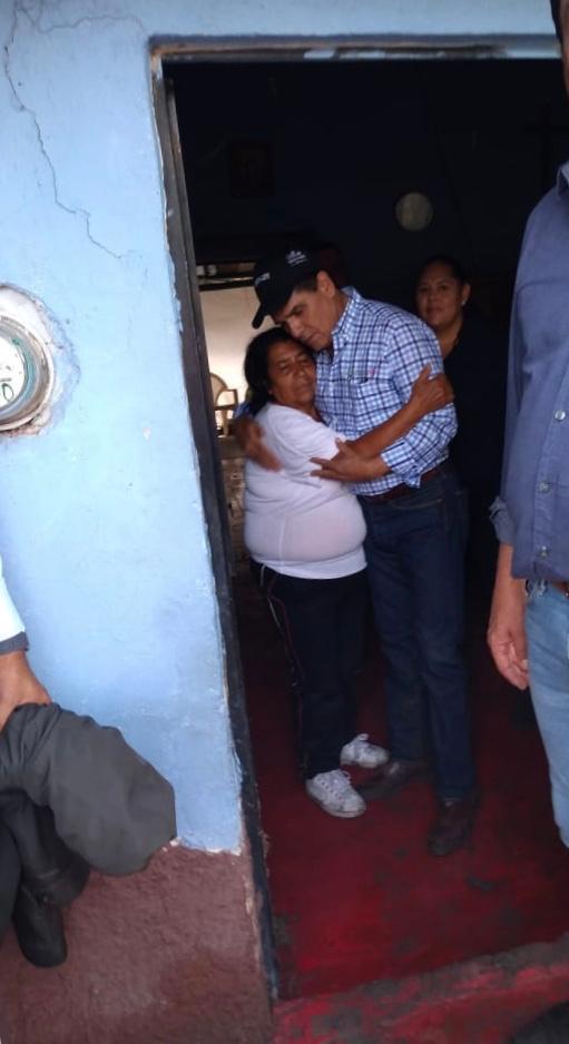 Instruye Gobernador apoyo inmediato a afectados por tromba en Jiquilpan