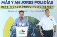 Se suma Huetamo al Plan de Seguridad con más y mejores policías