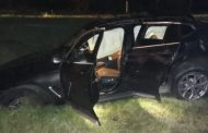 Chofer de BMW fallece al accidentarse, el carro tiene reporte de robo